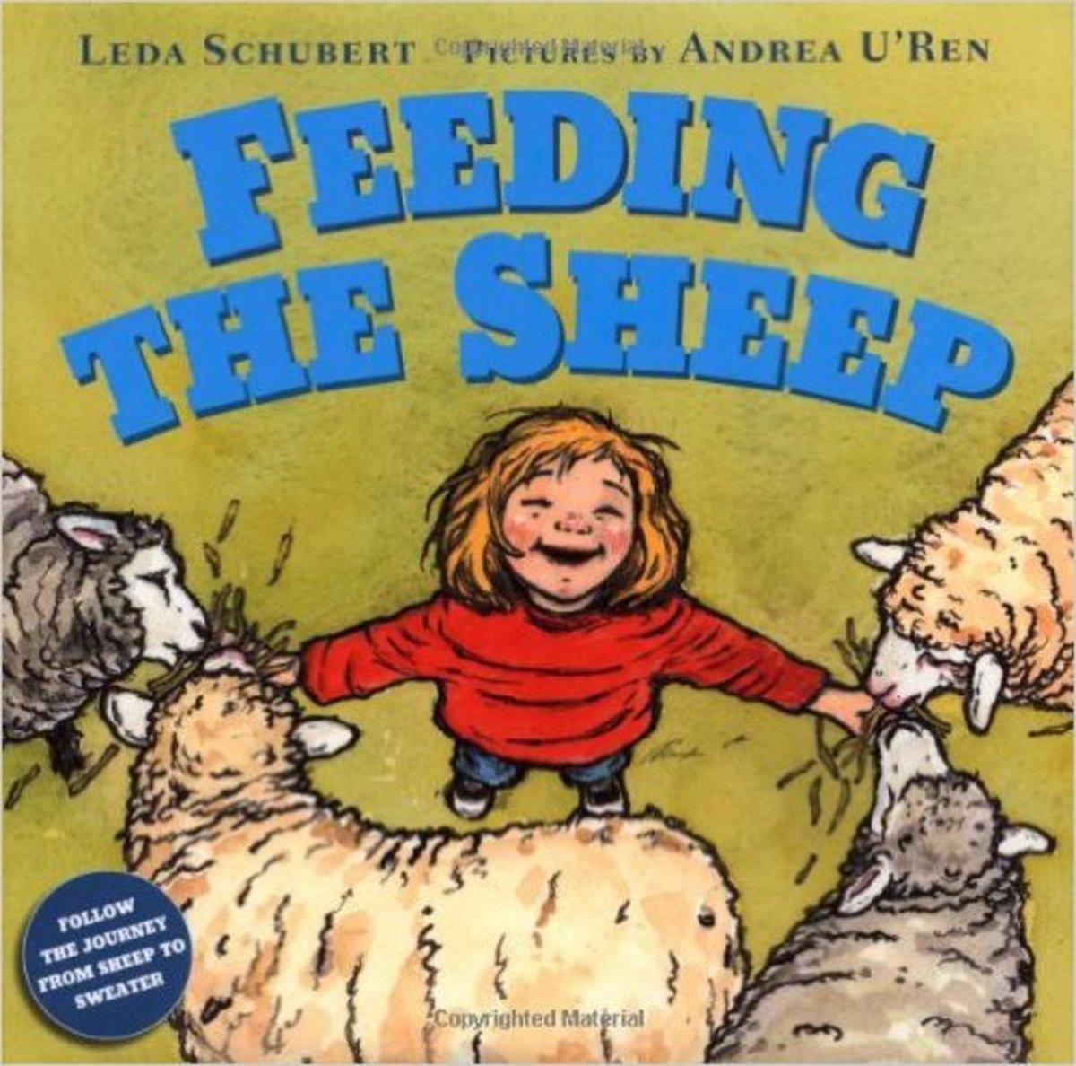 Feeding the Sheep by Leda Schubert