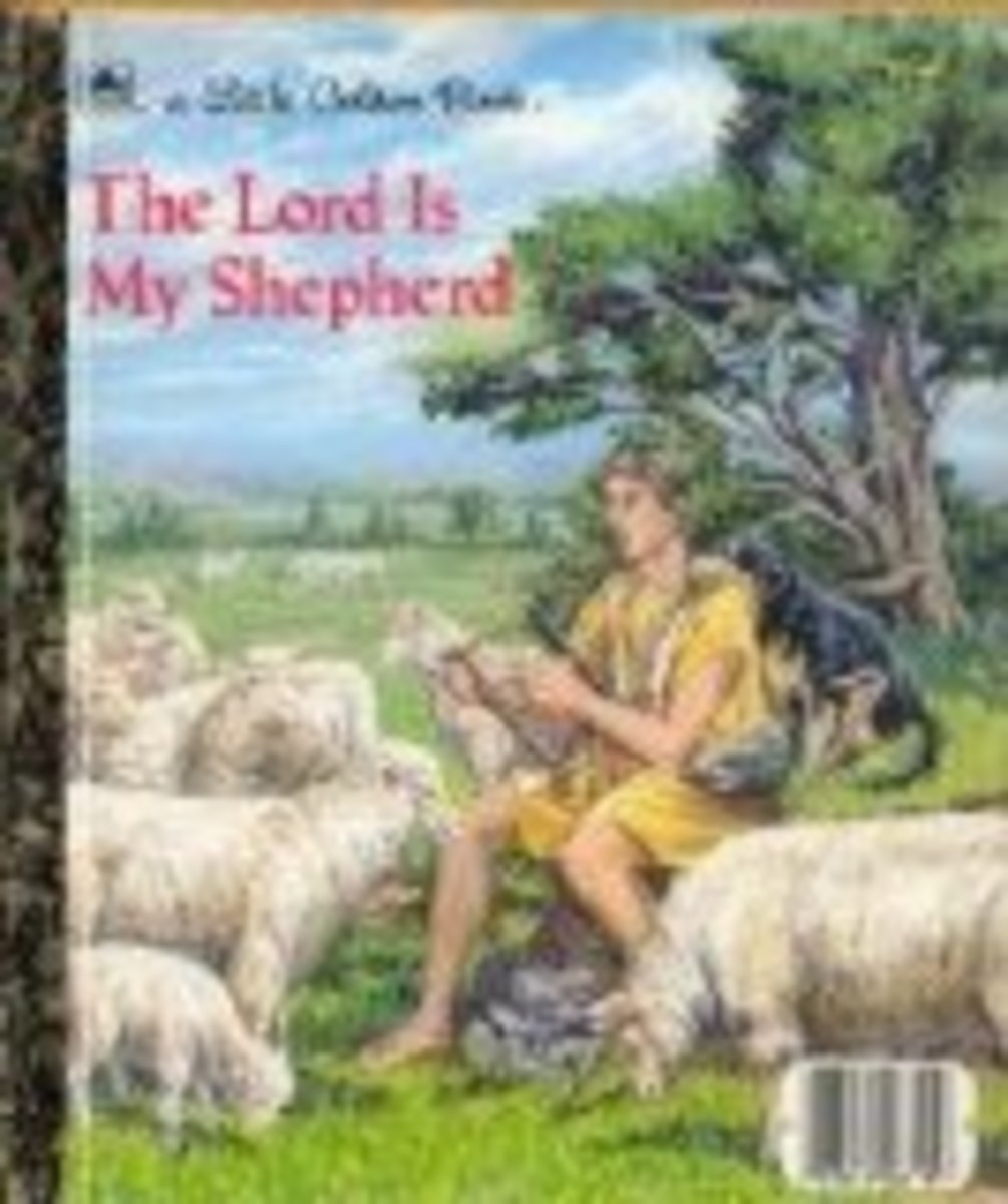 The Twenty-Third Psalm ( Little Golden Books) by Tom LaPadula