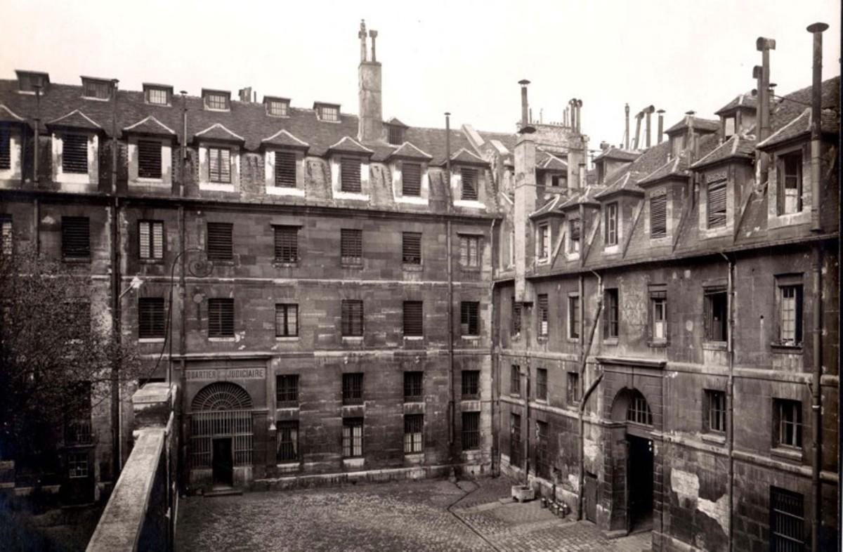 The Prison Saint-Lazare, in the north of Paris