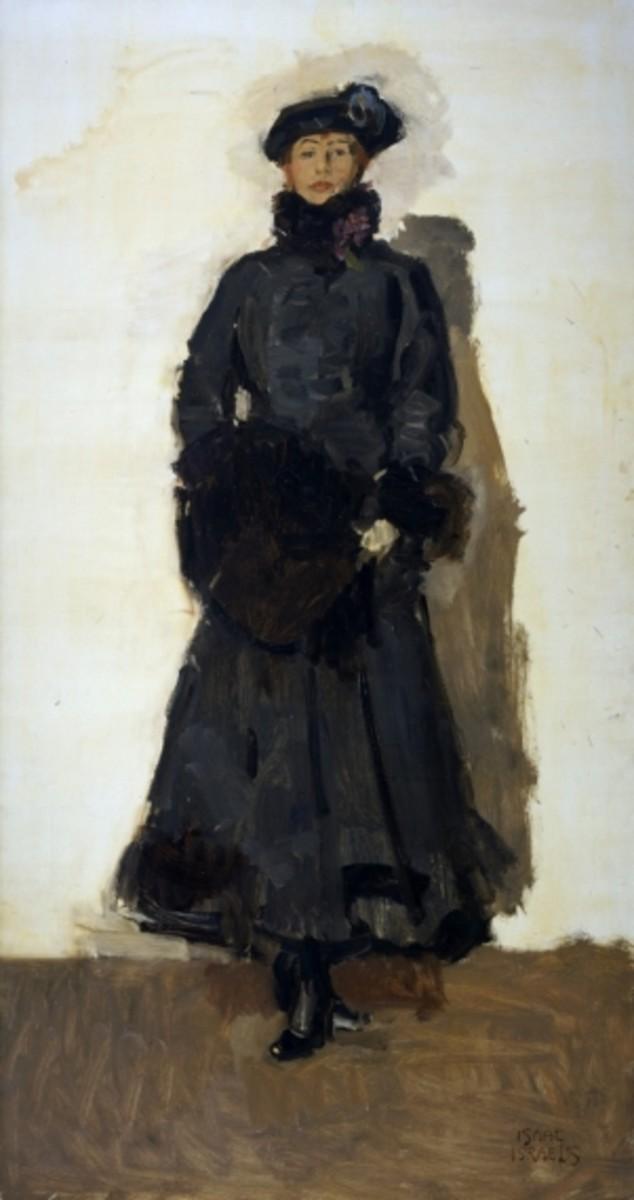 Painting of Mata Hari by Isaac Israëls, 1916