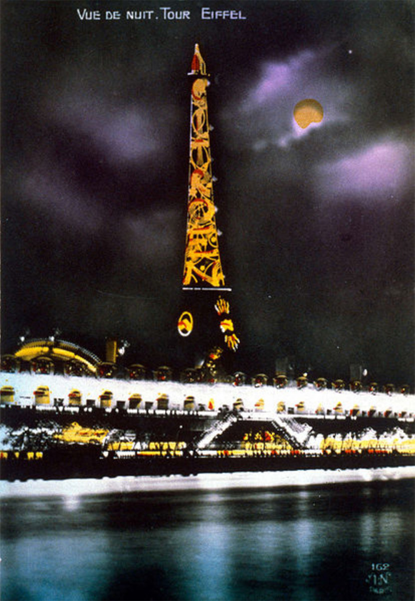The Eiffel Tower at the 1925 Exposition