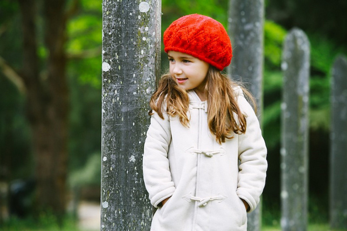 Little girls love new things to wear, and a special new hat or coat for Valentine's Day makes a treat for a little girl who particularly enjoys dressing up. Then take her out so she can wear it!
