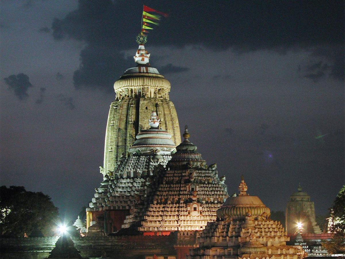 Puri's Jagannath Temple in the State of Odisha India