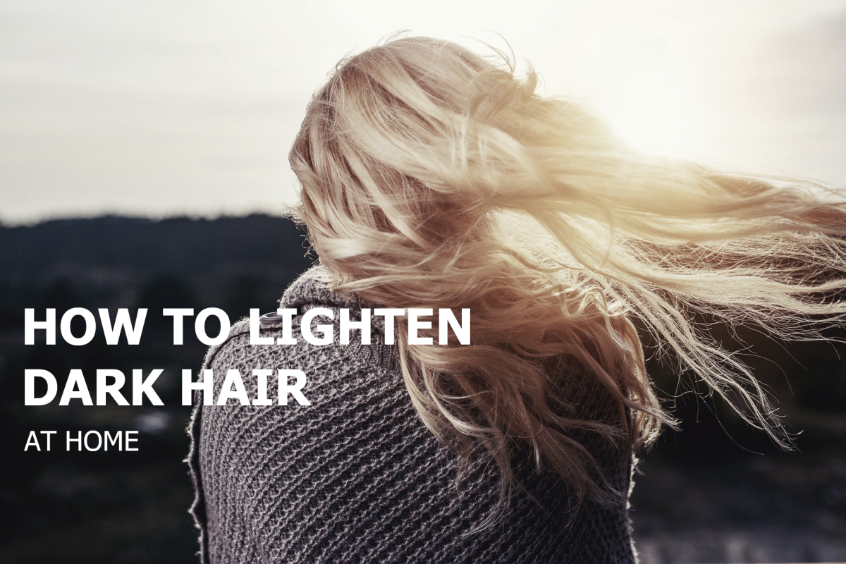 Learn how to bleach dark hair safely and effectively in the comfort of your own home!