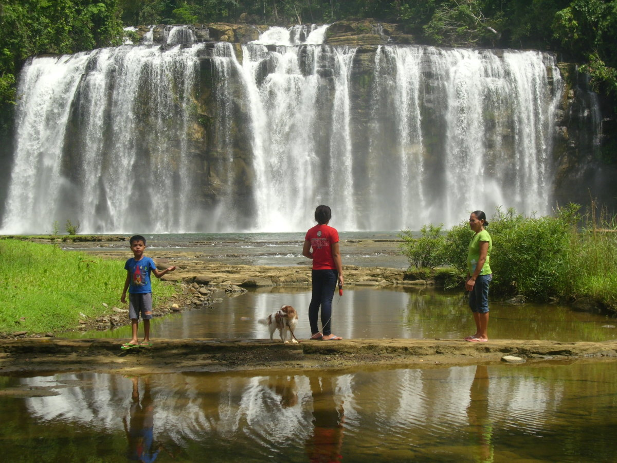 Outdoor Adventure At Tinuy-an Falls, Bislig, Surigao del Sur, Philippines