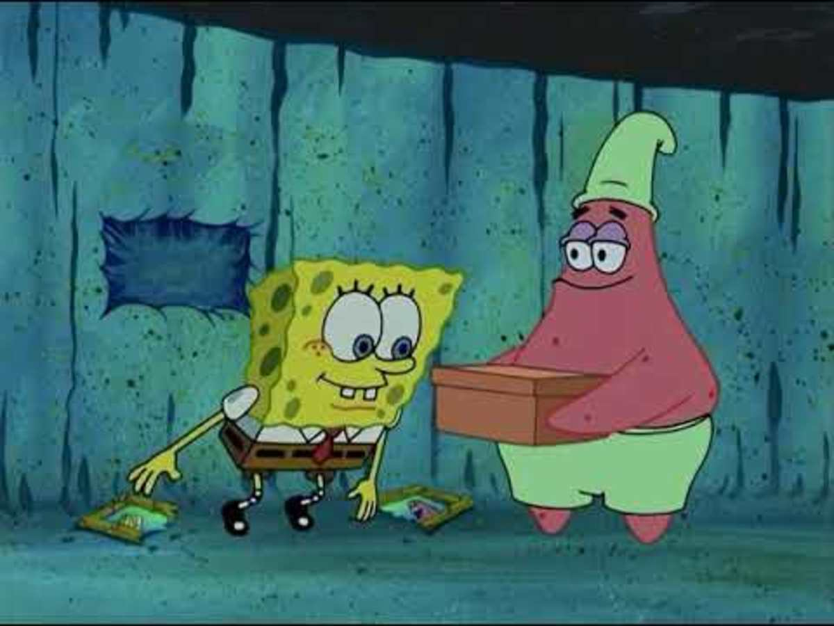 Patrick's secret box