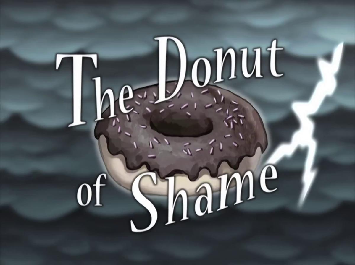 Patrick's stolen donut