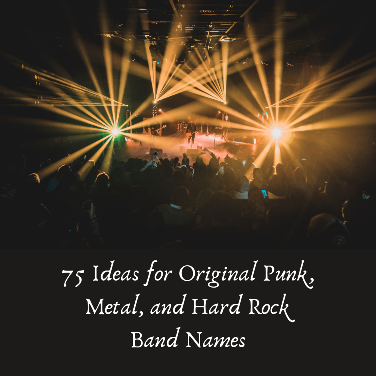 Band names can be hard to come up with. This article should help!