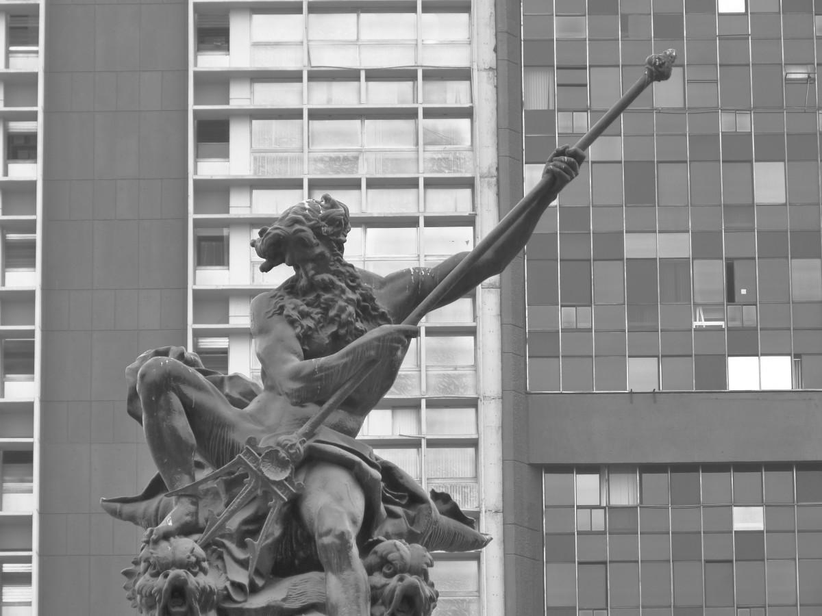 Poseidon (Neptune), god of the seas