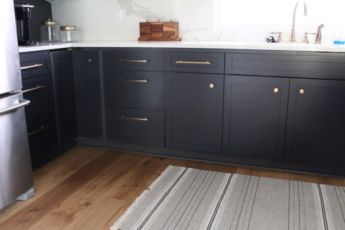 Often the pulls and knobs used on cabinet doors are so well really nice!