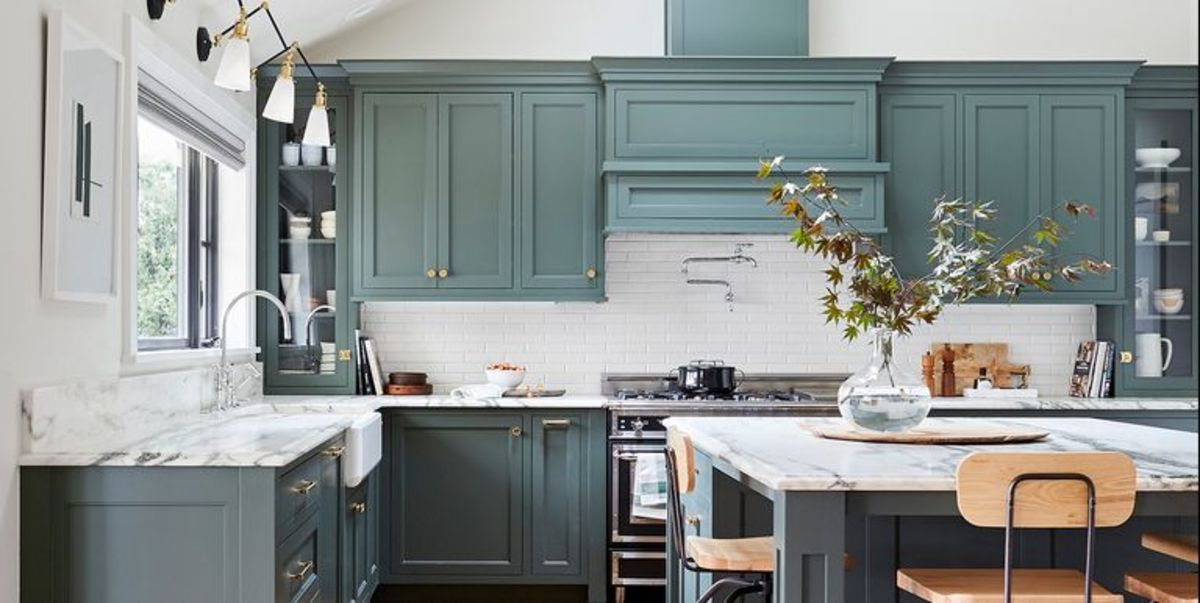 Find the right color hue for your kitchen paint cabinets for the process.