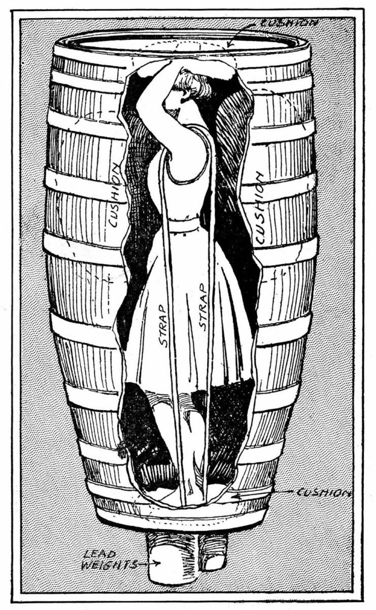 Annie Taylor Barrel Design