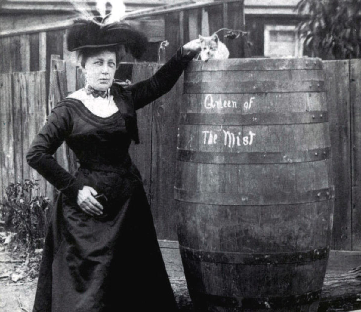 Annie Edson Taylor: First Person to Survive Going Over Niagara Falls in a Wooden Barrel