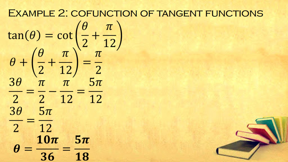 Cofunction of Tangent Functions
