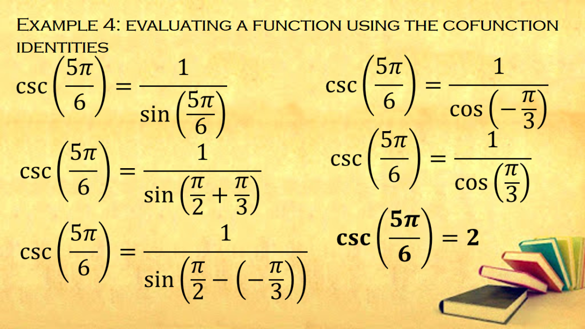 Evaluating a Cosecant Function Using the Cofunction Identities