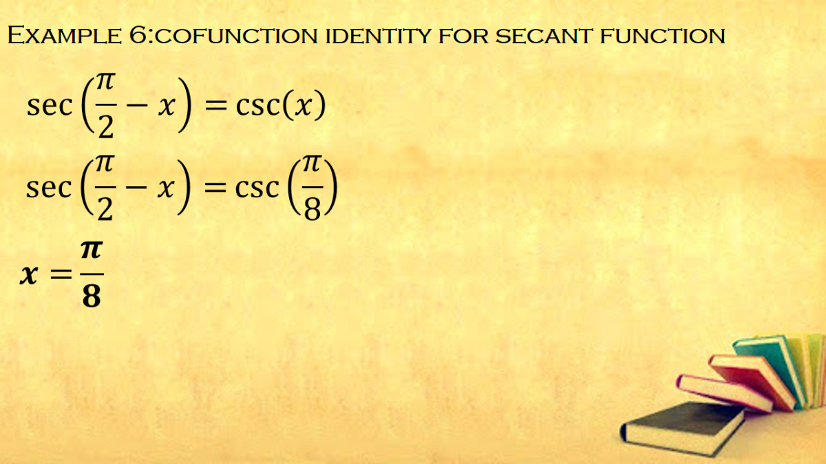 Cofunction Identity for Secant Functions
