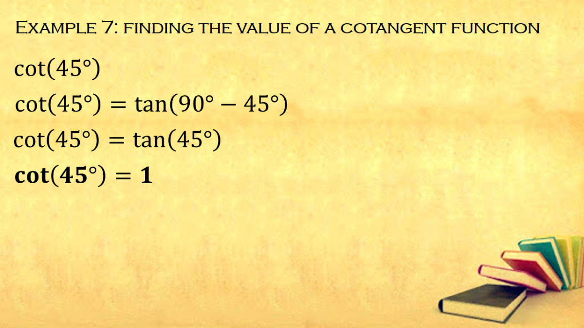 Cofunction Formula for Tangent Functions