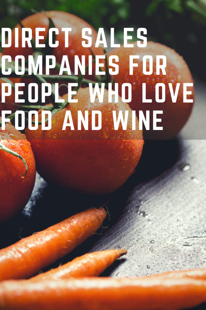 8 Direct Sales Companies That Sell Food, Wine and Baking Supplies