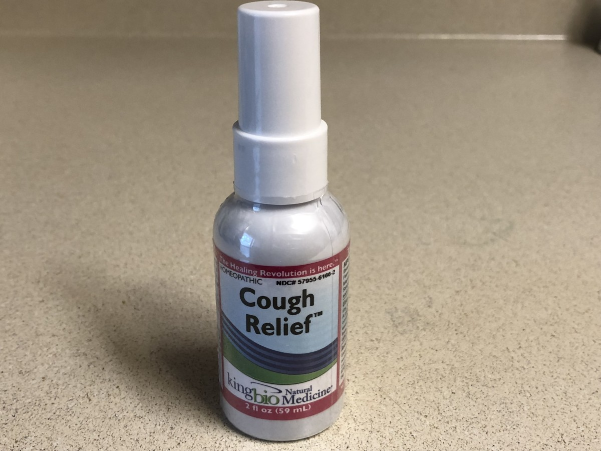 Cough Relief Homeopathic Spray