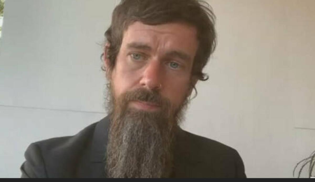 No, it's not ZZ Top, Osama bin Laden's offspring, or a caveman.  It's dead-eyed Jack Dorsey, Twitter's CEO.  He doesn't  look like he sleeps well.  Maybe he needs a MyPillow!