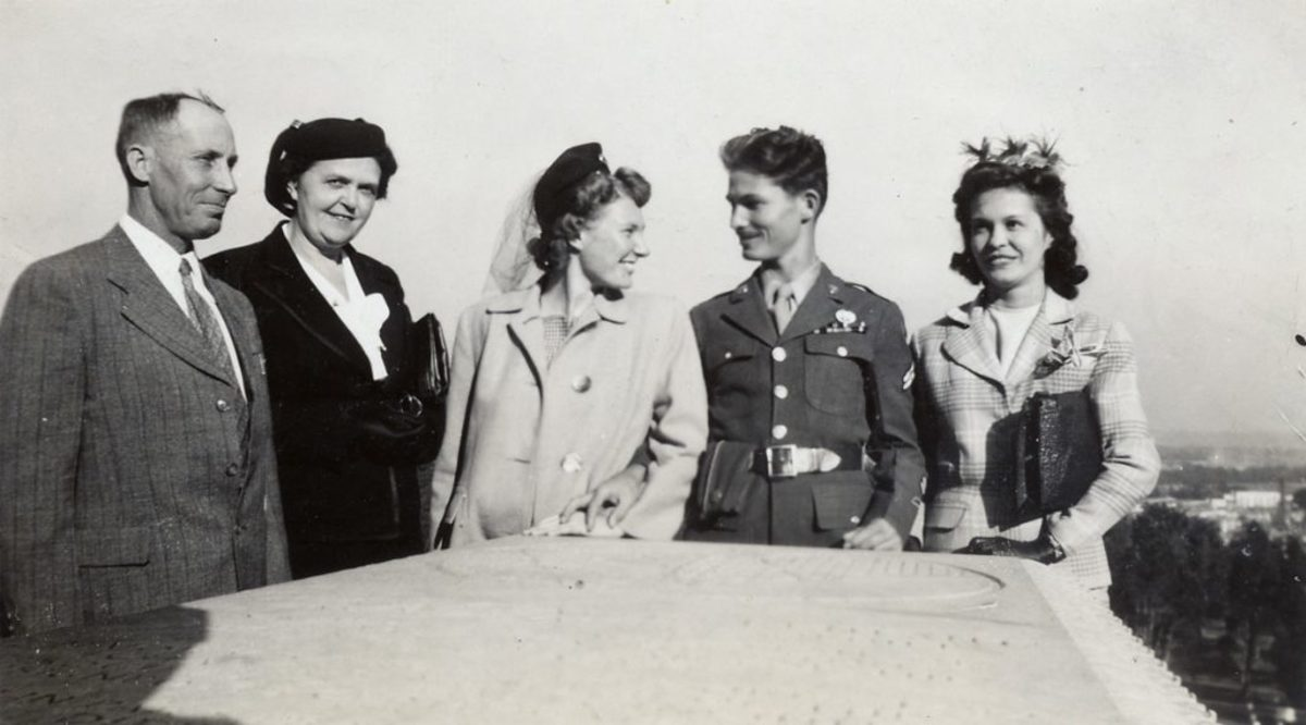 Desmond Doss and first wife