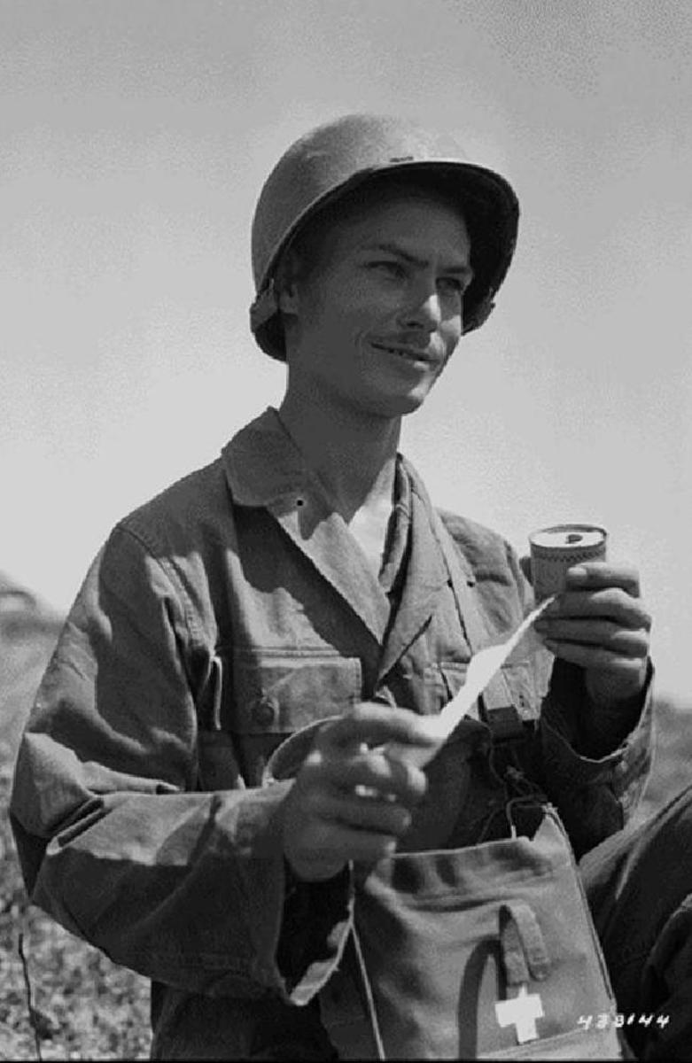 Desmond Doss during World War II