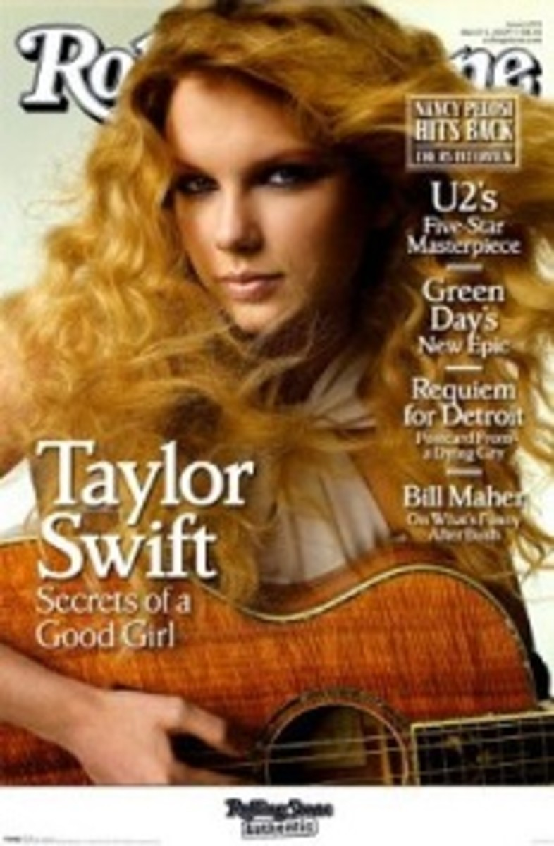 Taylor Swift Rolling Stone poster