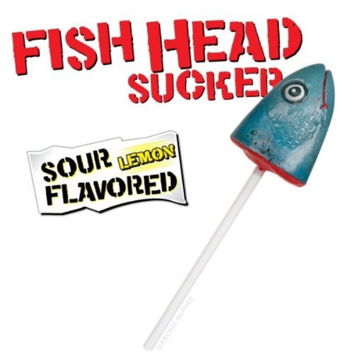 Fish head candy