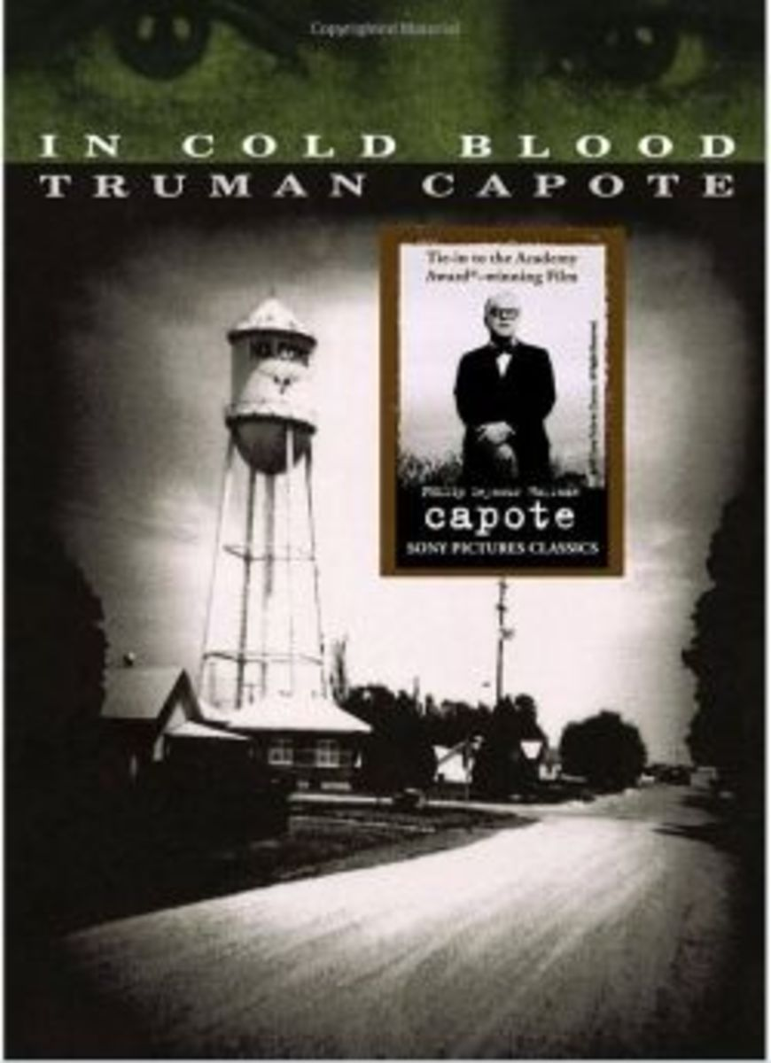 """the gruesome murders in utterly cold blooded by truman capote Truman capote stands in the living room of the clutter ranch house where four   capote's account of the crime, in cold blood, was a bestseller  a new book on  the gruesome murder of a family in the town of holcomb,  reports to present a """" totally different theory"""" from capote's on how the killings of herb."""