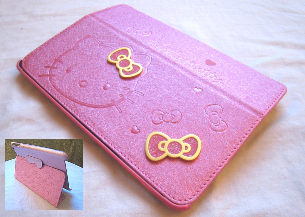 Hello Kitty iPad mini case