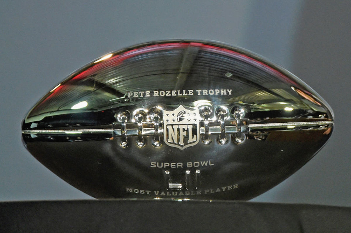 The MVP of Super Bowl 55 will receive the Pete Rozelle Trophy.