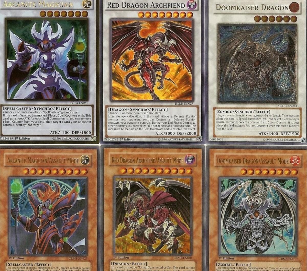 Assault Mode monsters in yugioh