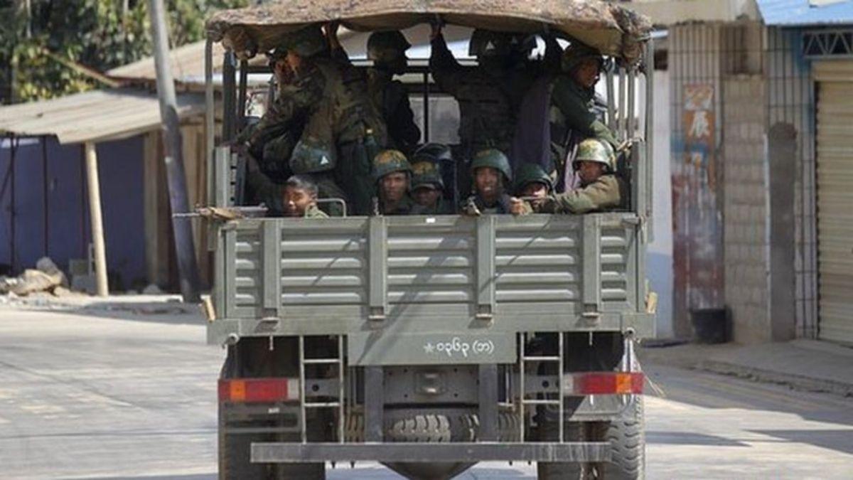 Myanmar Declares Martial Law