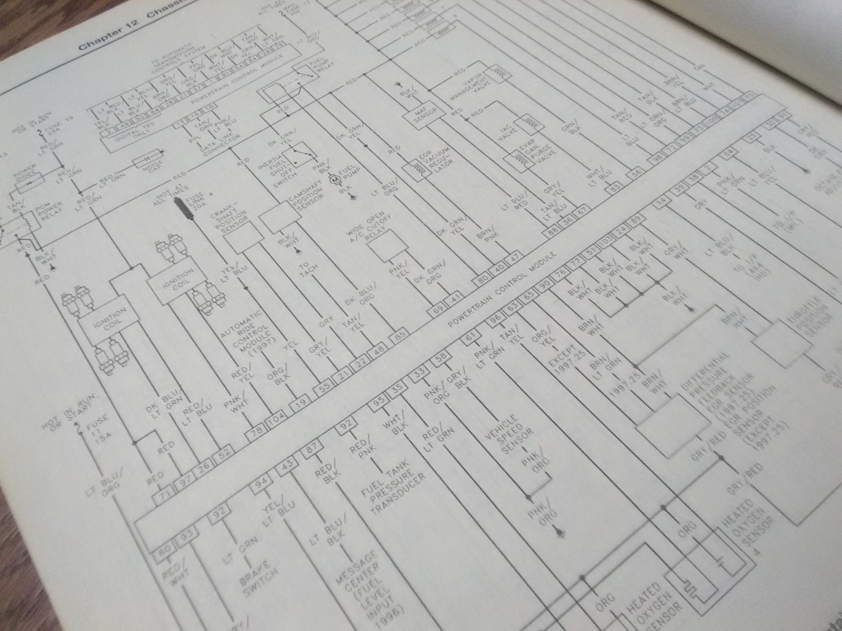 If necessary, use the electrical diagrams in your vehicle repair manual to check other related systems.