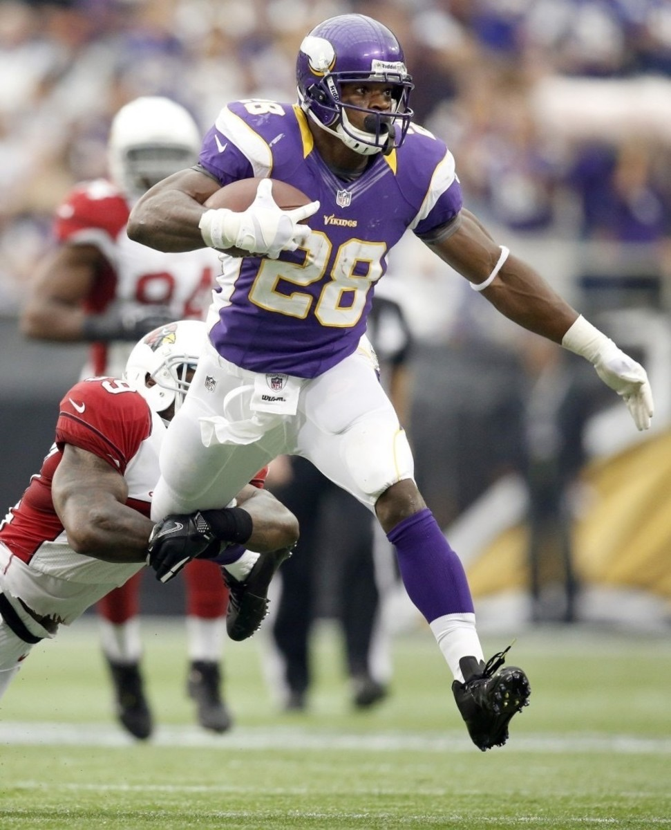 Peterson will go down as one of the legendary RBs of all time and if you don't believe us check his tape.