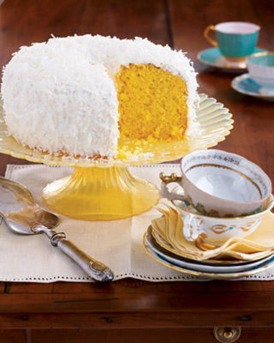 COCONU CHIFFON CAKE (Photo courtesy of http://www.womansday.com/)