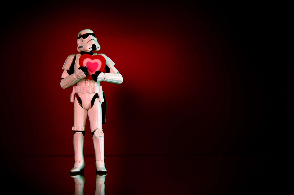 Storm Troopers spend a lot of time traveling around the galaxy, so they have to cope with single life.