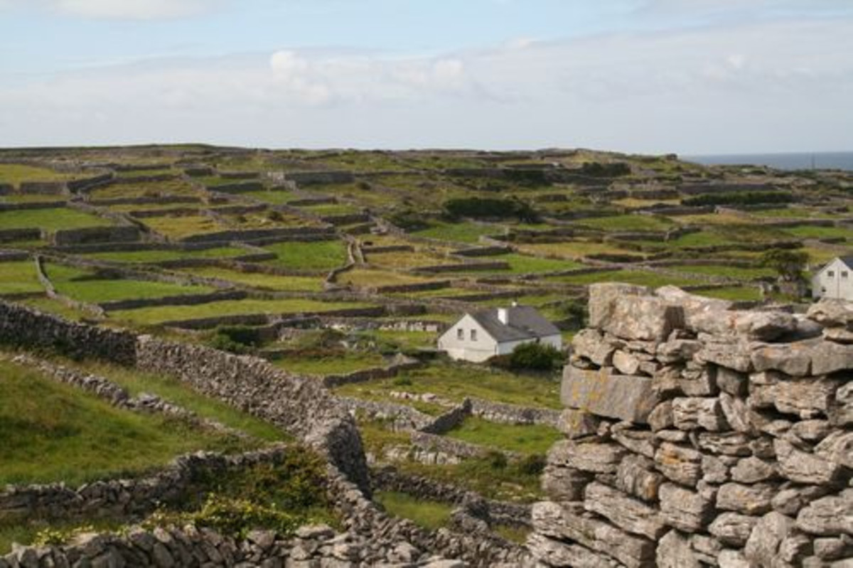 Inisheer ('Inis Orr' in Gaelic) is the easternmost of the Aran Islands.