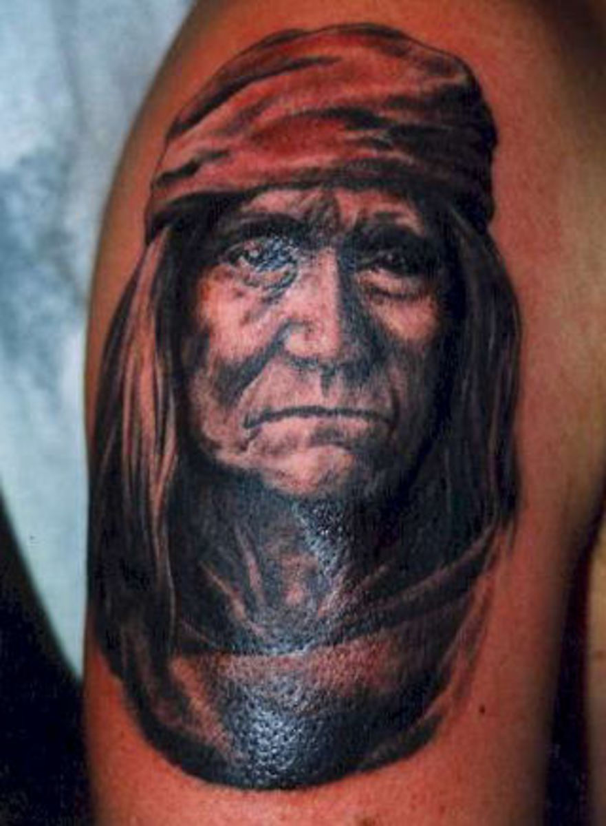Haunting American Indian Tattoos Hubpages