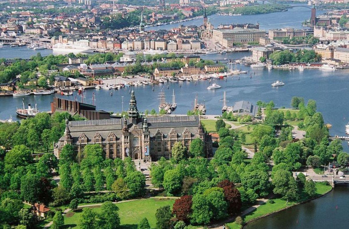 Djurgården in central Stockholm