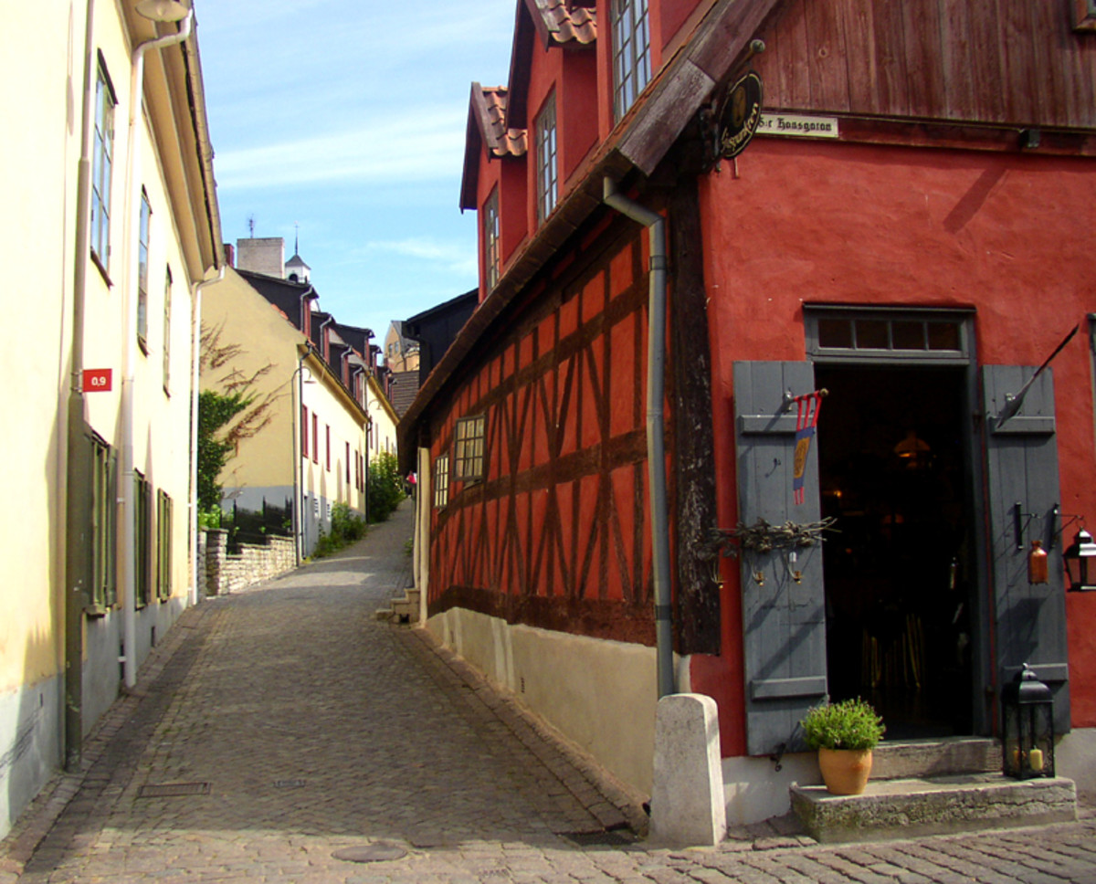 Visby on island of gotland