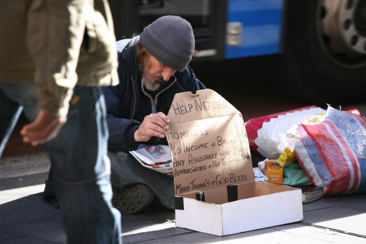 There are many ways you can help the homeless