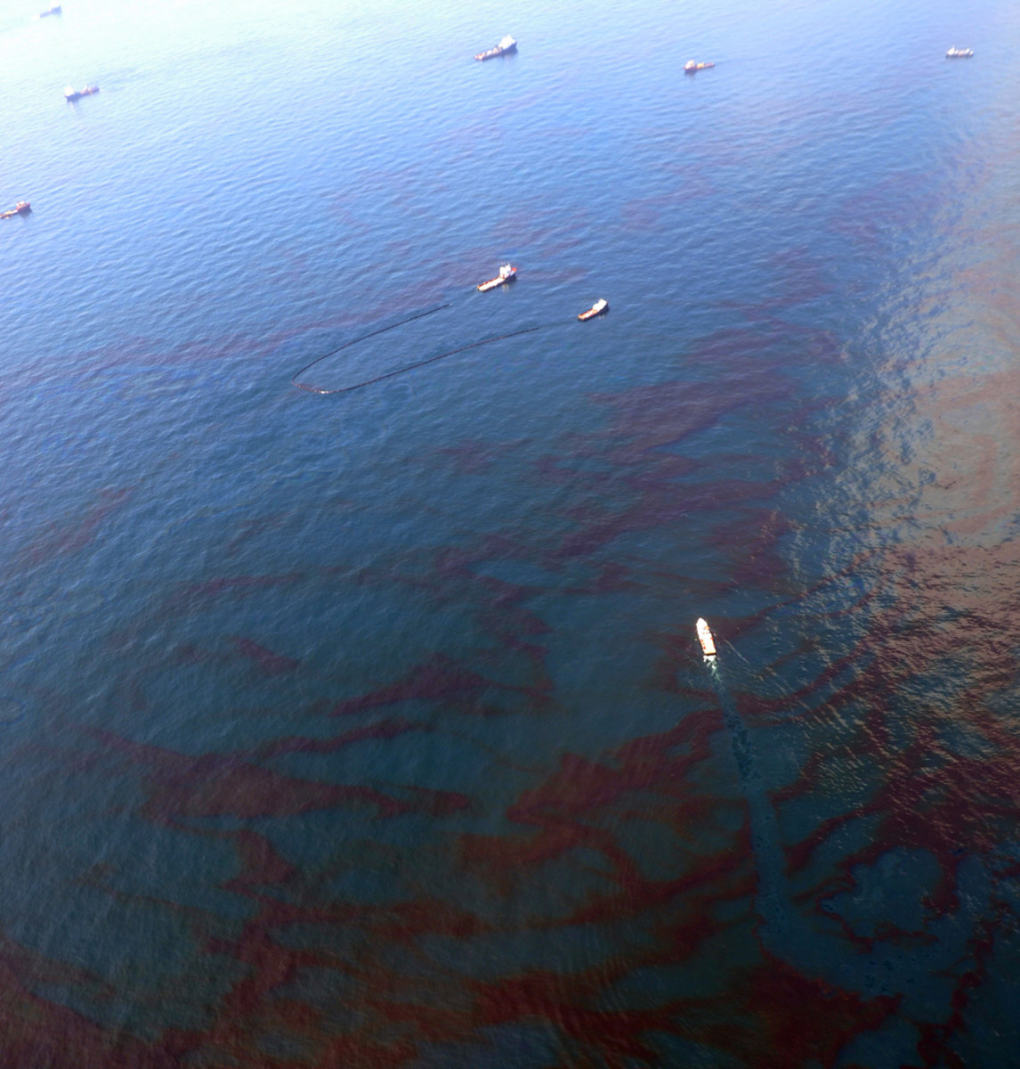 The BP (Deepwater Horizon) oil spill in the Gulf of Mexico caused widespread damage to the Gulf's ecology, tourism, and the death of 11 people.