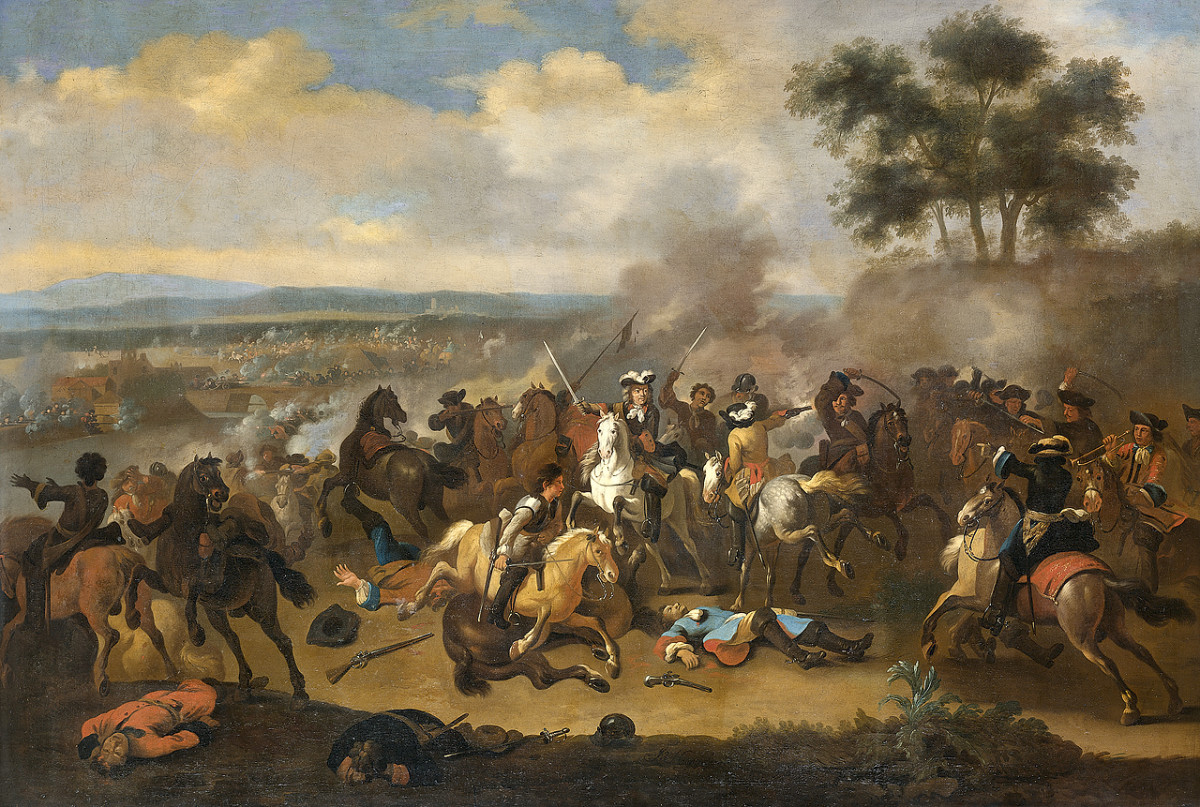 """BATTLE OF THE BOYNE"" BY JAN VAN HUCHTENBURG"