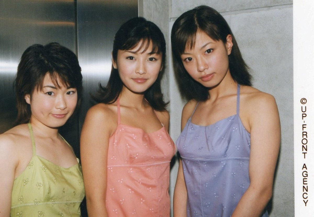 From left to right: Asami Kimura, Rika Ishikawa, and Rinne Toda.