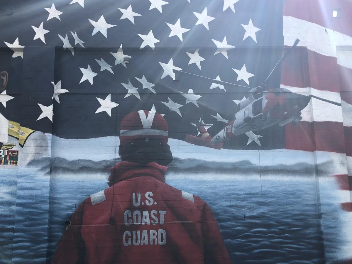 Patriotic Memorial Mural, Frame 5
