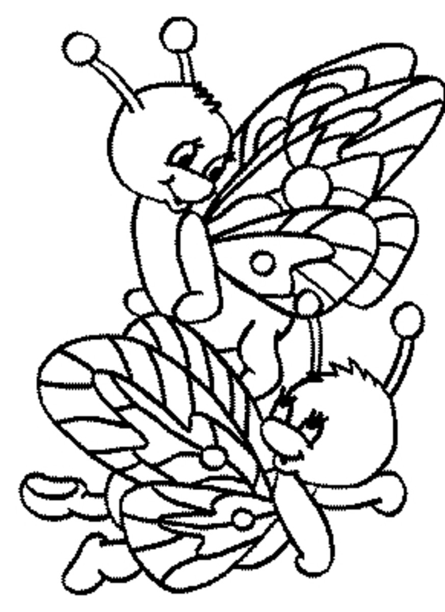the yellow link colouring pages