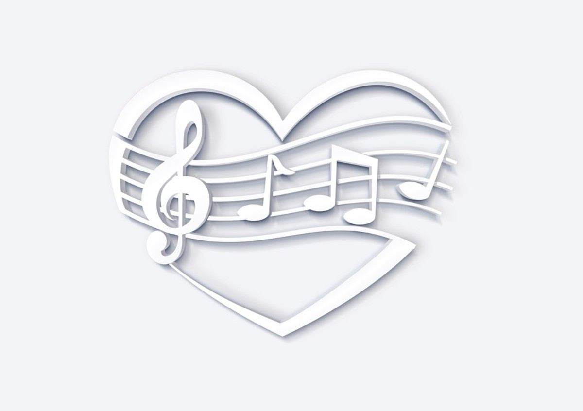 Beautiful Heart and Music To Color