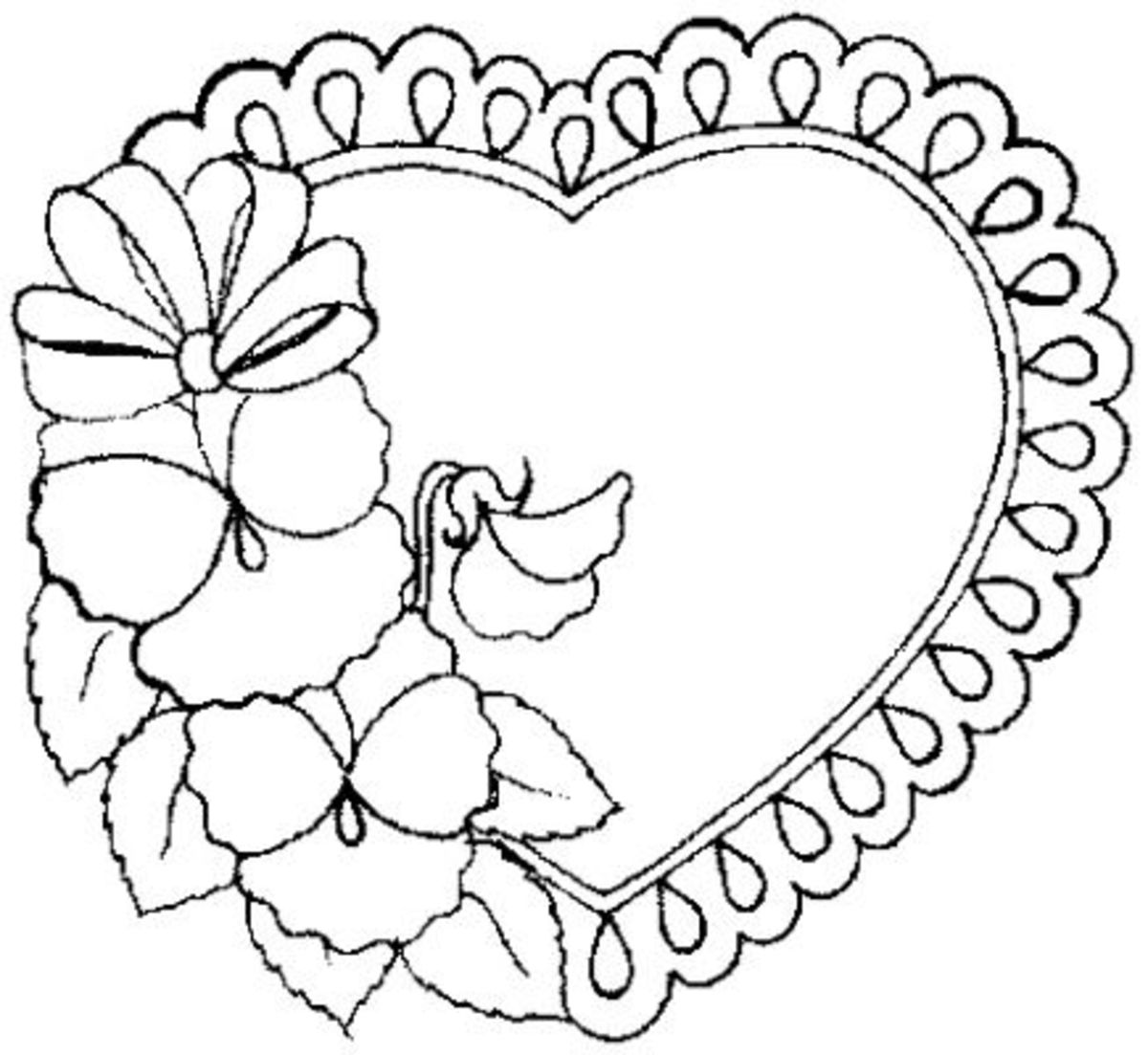 Best Free Valentine Coloring Pages, Quotes, Clip Art And ...