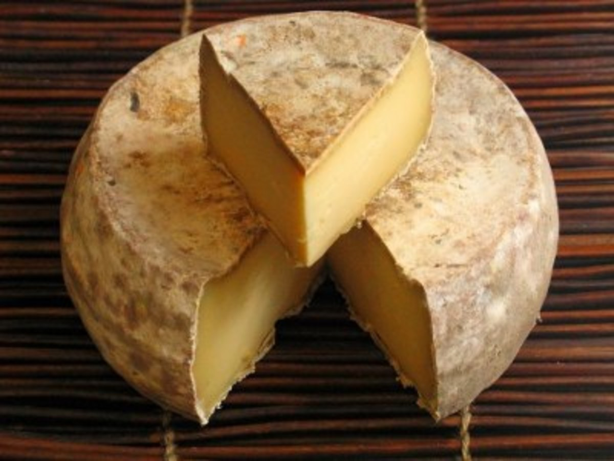 Tomme de Savoie, with its nutty flavor, is used in many French recipes.